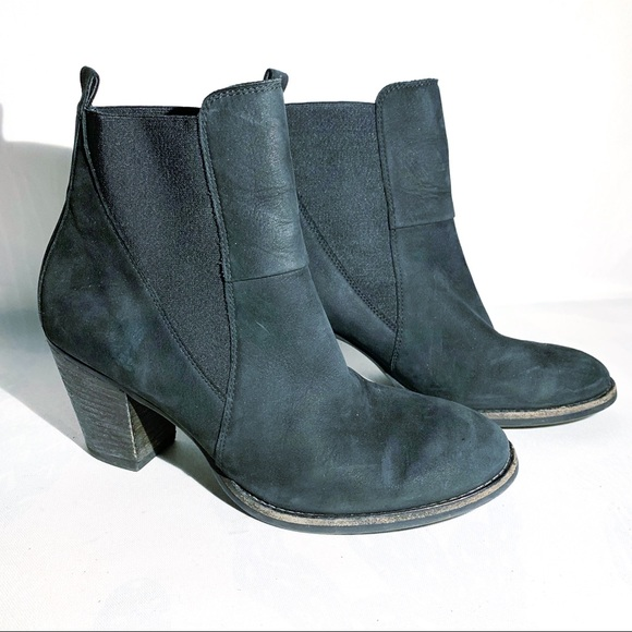 Paul Green | Boots Jules Chelsea Block Heel Sz 8
